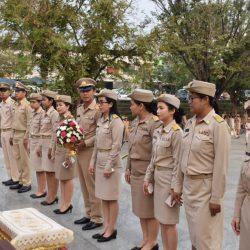 """พิธีถวายราชสักการะฯ พระบาทสมเด็จพระจุลจอมเกล้าเจ้าอยู่หัว (รัชกาลที่ 5) เนื่องในโอกาส """"วันท้องถิ่นไทย ประจำปี 2562"""