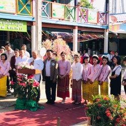 งานสืบสานประเพณีไทย ศิลปวัฒนธรรมไทยสู่ใจเยาวชน หมู่ 5 บ้านขอม ตำบลพญาแมน